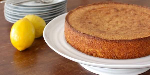 receitas bolo de limão
