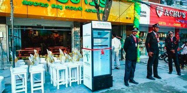 geladeira solidaria india