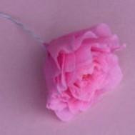 Como fazer flores de papel 10