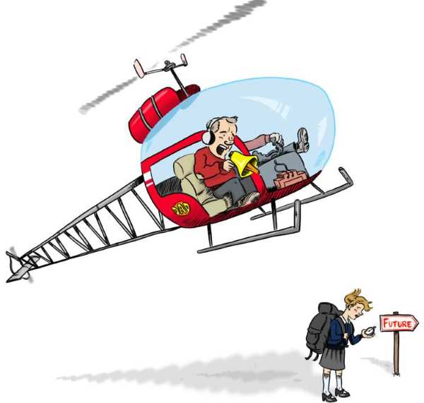 pais helicoptero