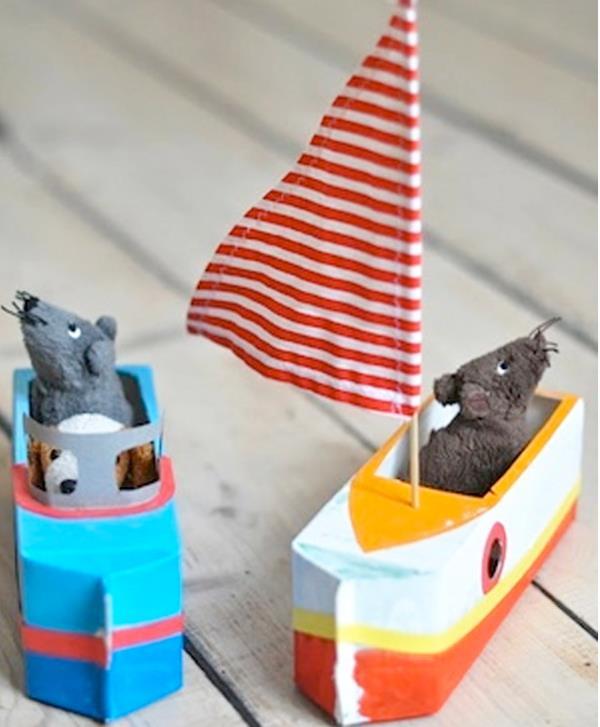 barquinhos para navegar