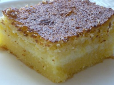 bolo mandioca cremoso