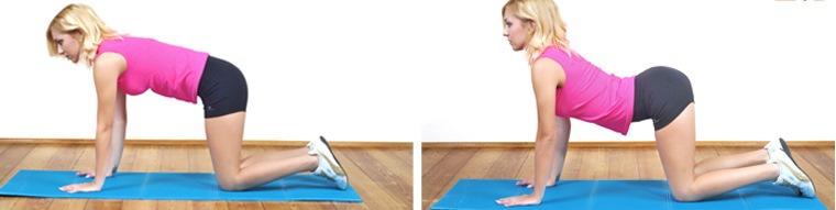 flexão extensão coluna vertebral