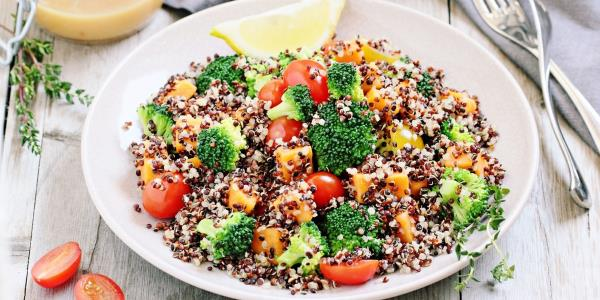 risoto de quinoa