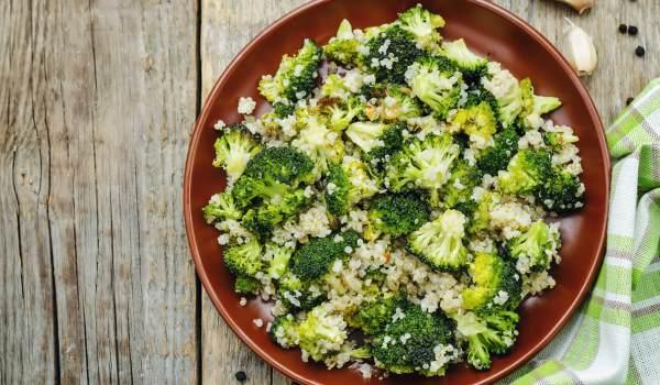 torta quinoa brócolis