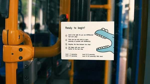 experimento ônibus amsterdam