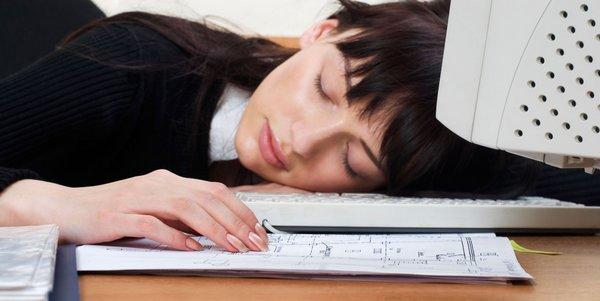 dormir-trabalho
