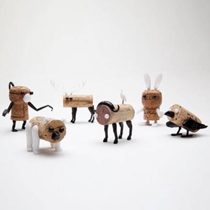 rolhas animais