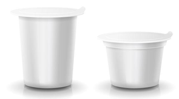 artesanato com pote de iogurte