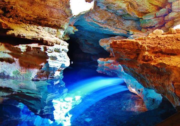 caverna poço azul 3