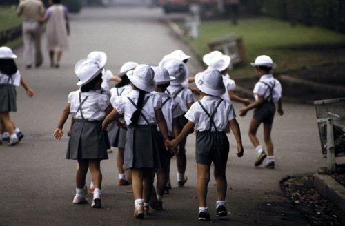 criancas japonesas escola