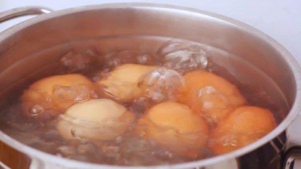 descascar ovos
