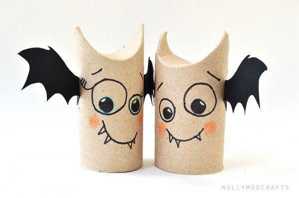rolo com asas de morcego