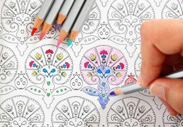 colorir mandala 1
