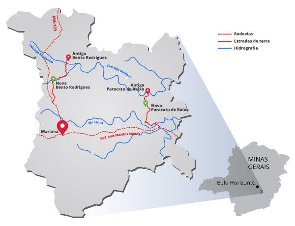 mariana mapa