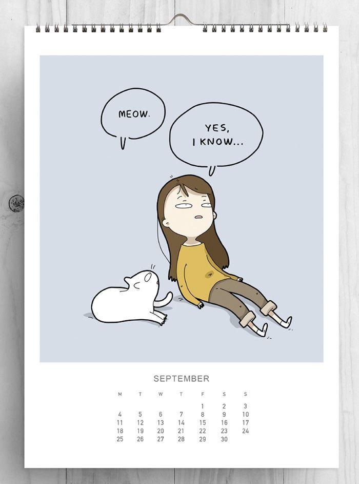 setembro gatos