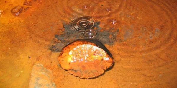 água mais antiga do planeta