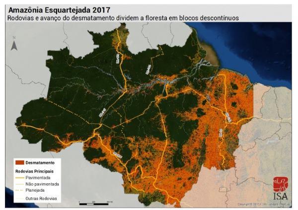 amazônia esquartejada