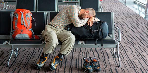 dormir aeroporto