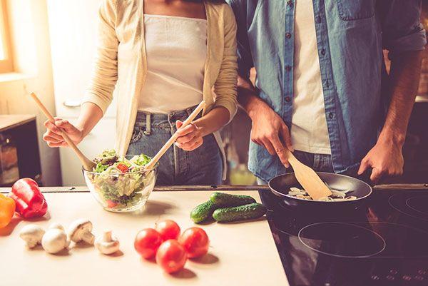 emagrecer cozinhar