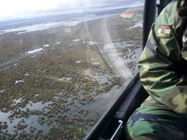 evaporou lago bolivia 2