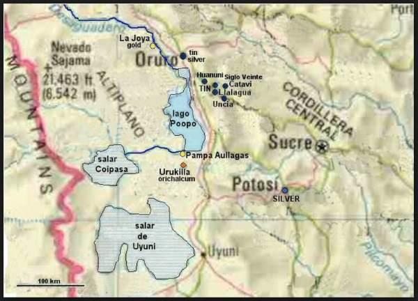 evaporou lago bolivia 3