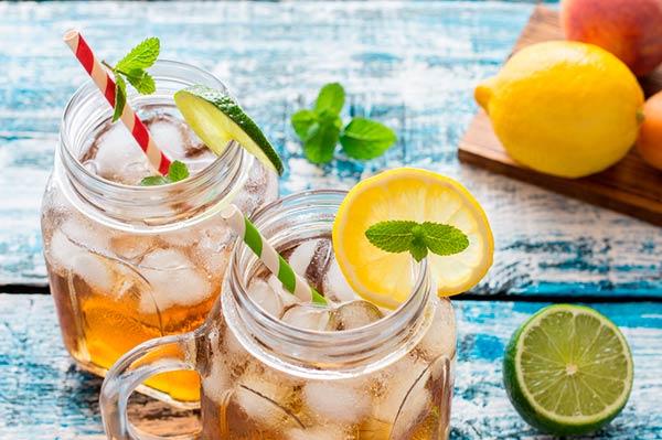 limonada cha verde