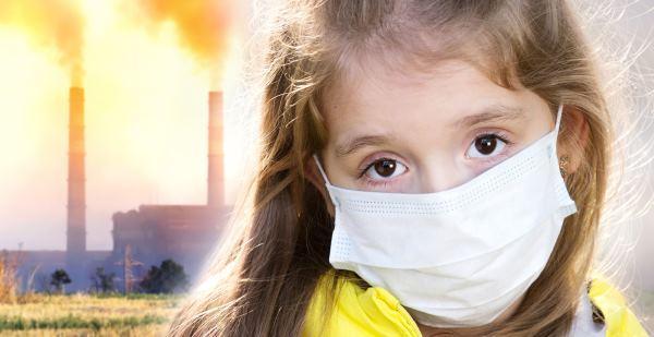 Poluição mata crianças