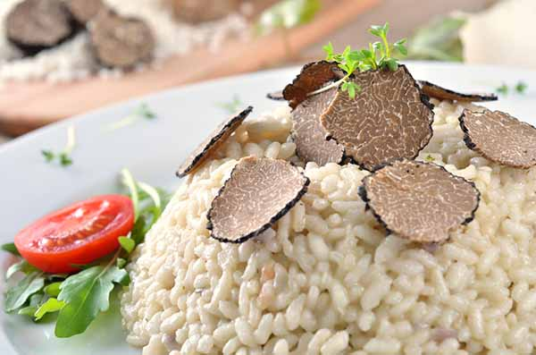 trufa risoto