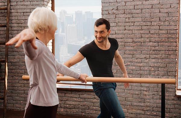 ballet adulto senhora