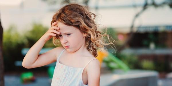 Dor de cabeça em crianças