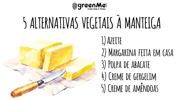 manteiga alternativas