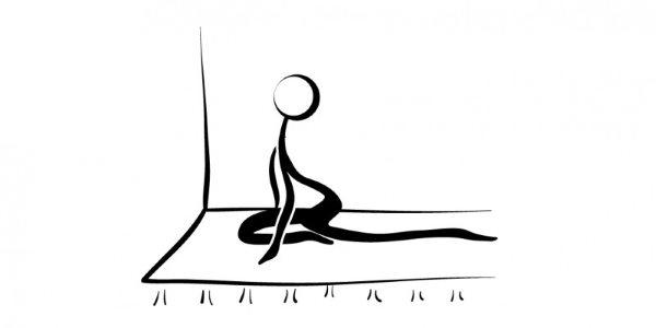 yoga para dormir kapotasana