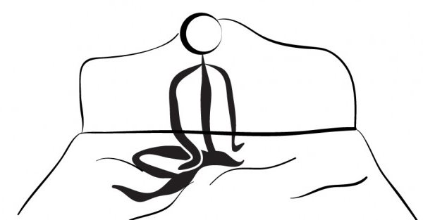 yoga para dormir supta parivrtta sukhasana