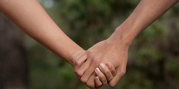 mãos-dadas