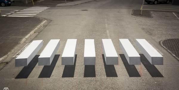 faixa de pedestre 3D