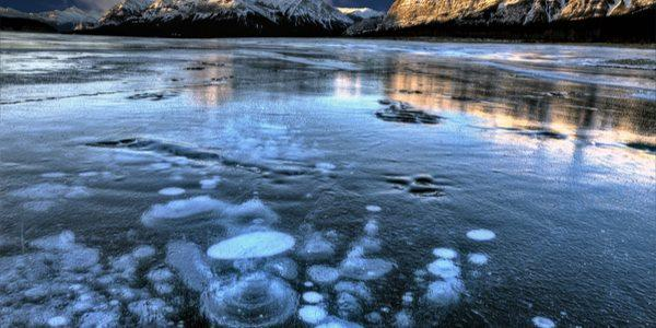 bolhas de gelo