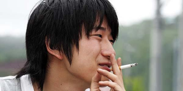 fumar no Japão