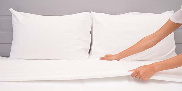 trocar lençóis