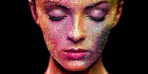 carnaval glitter