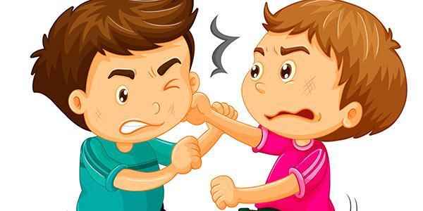 crianças-brigando