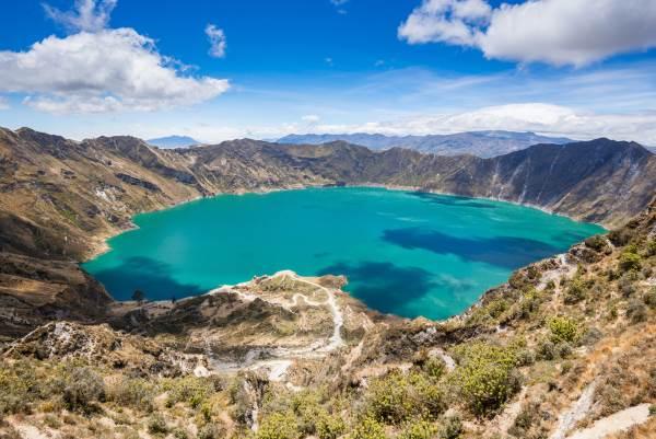 quilotoa equador
