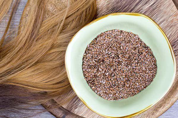 linhaça cabelos