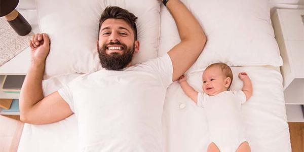 Bebês parecidos com papai