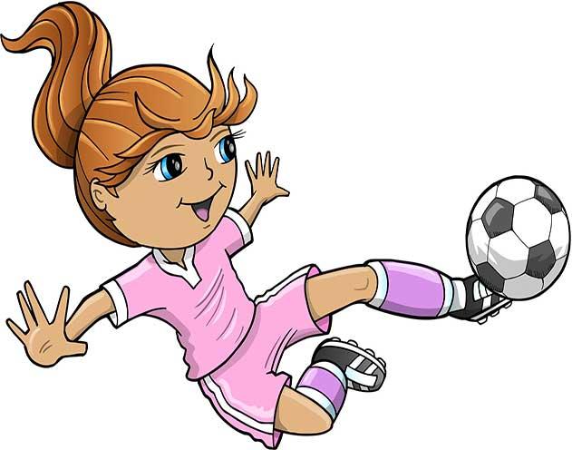 futebol menina