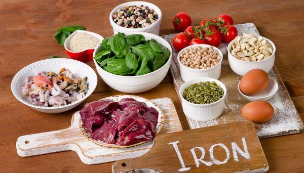 ferro e alimentação