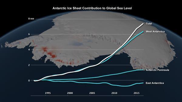 grafico antartitida