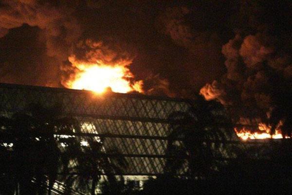 Incêndio no Rio de Janeiro