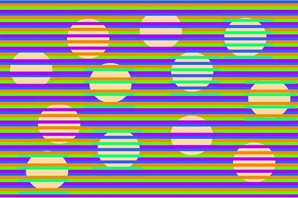 ilusao de otica circulo