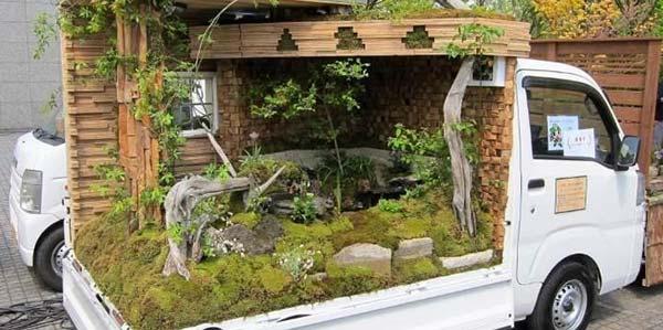 Kei Truck Garden Contest